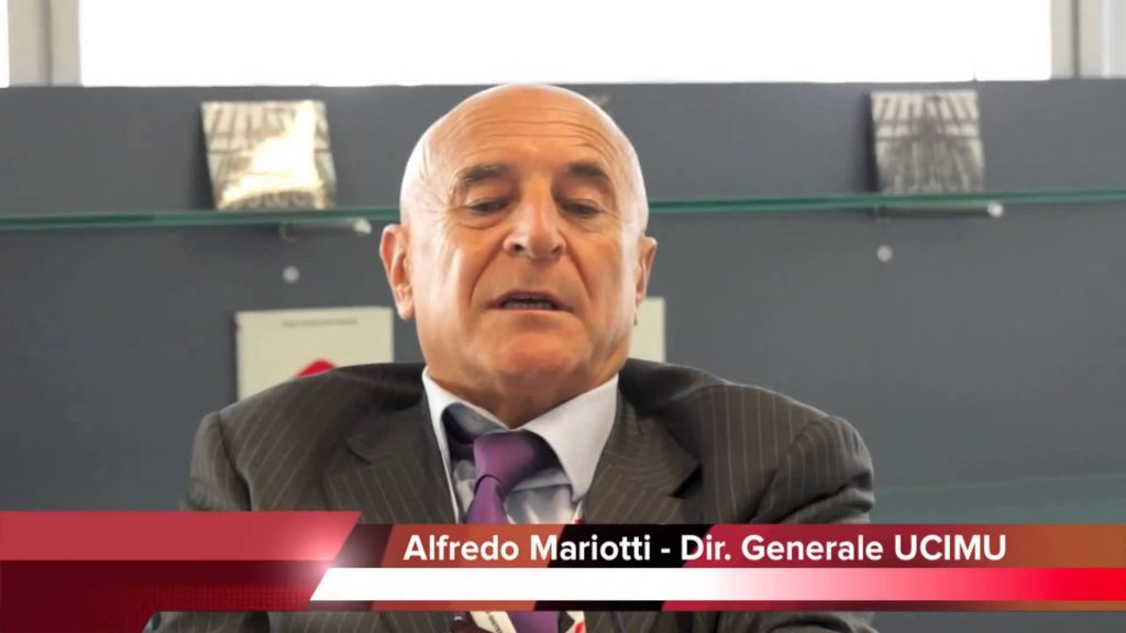 Alfredo Mariotti, UCIMU-SISTEMI PER PRODURRE