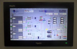 HMI - sistema gestione fonti energetiche GAI