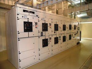 Quadro distribuzione elettrica impianto