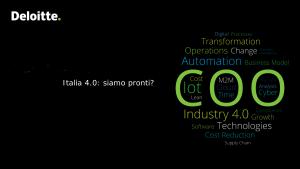 Italia 4.0: siamo pronti?